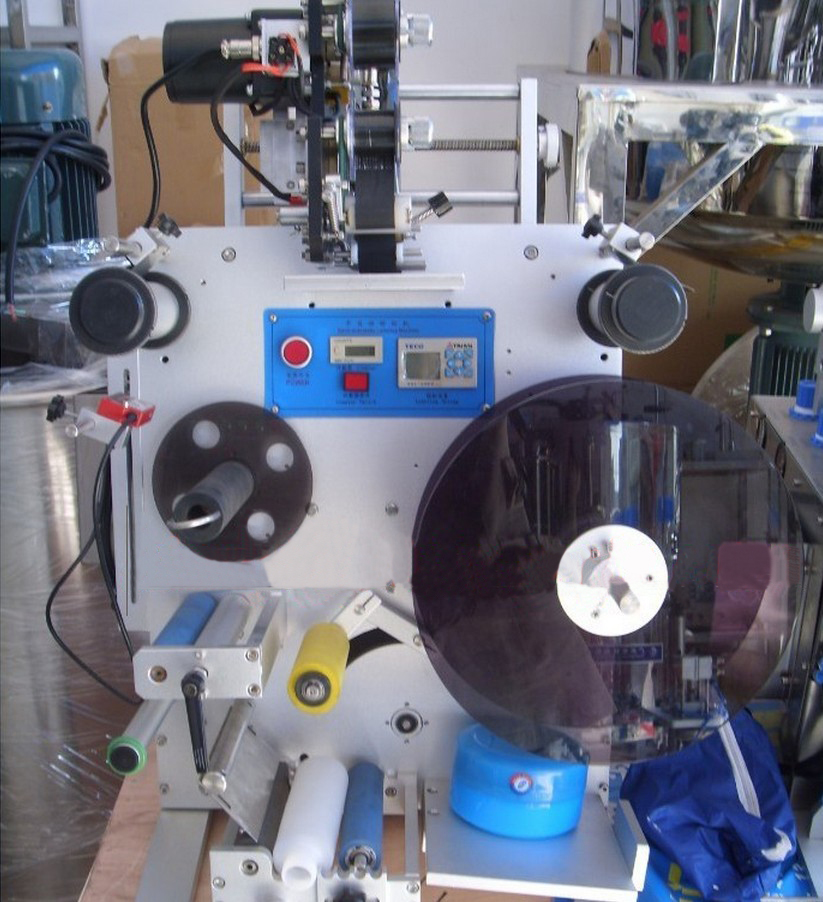 Round Bottle Tabletop Labeling Machine