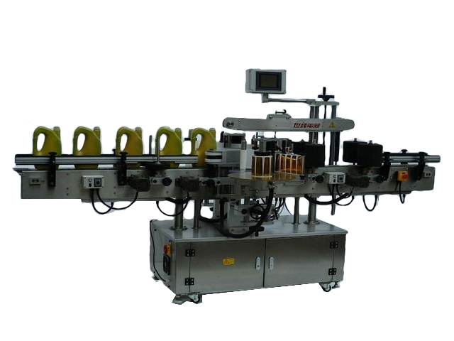 Automatic Front and Back Labeling Machine