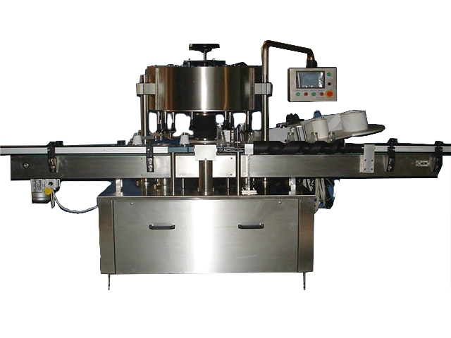Automatic Rotary Round Bottle Labeler