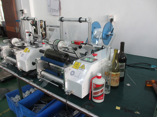 the whole view of the transparet labeler
