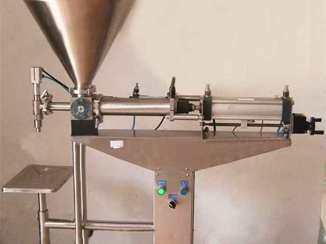 desktop semi automatic liquid filling machine