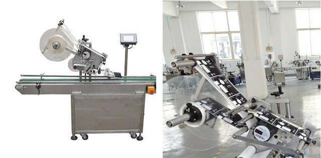 full view of the flat surface labelling machines