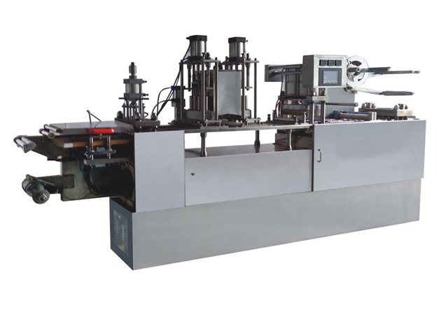 Automatic filling and sealing machine for plastic cup