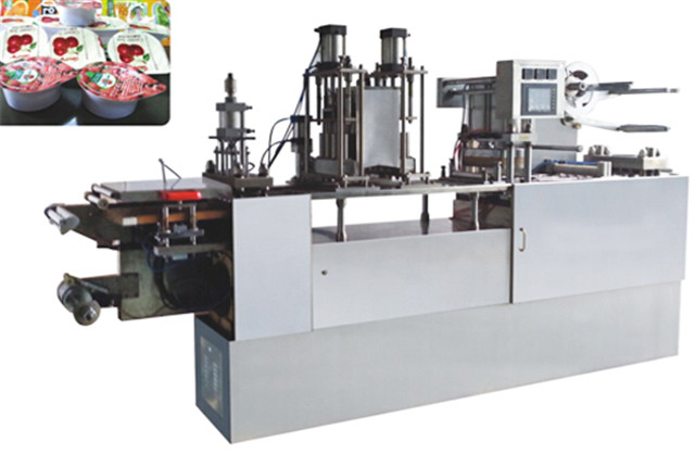 Automatic filling and sealing machine and samples