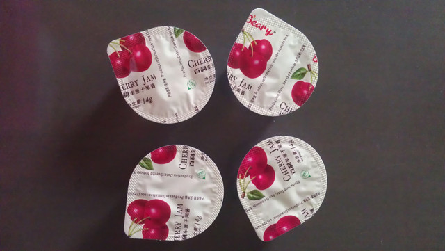 Samples by cream thick sauce filling and sealing machine