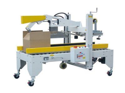 Semi automatic carton flap folding machine