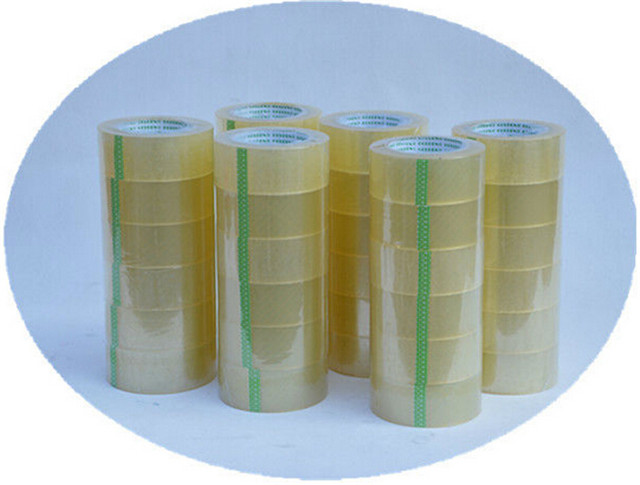 Adhesive tapes equipped with the semi automatic carton folding machine for sealing cartons