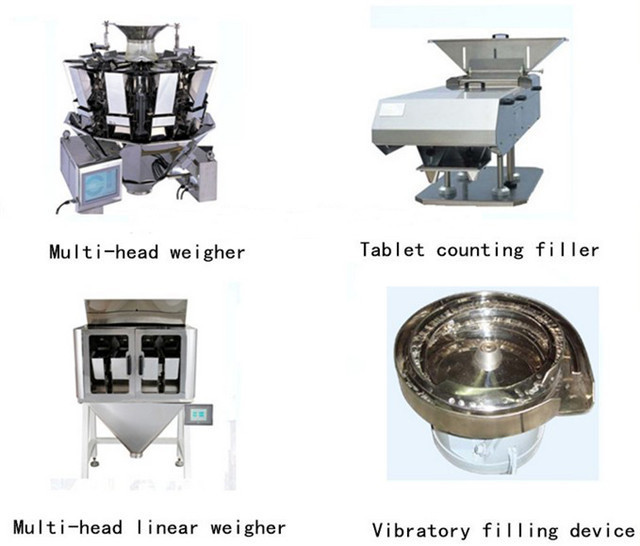 Configuration of HFFS packing machine for coffee powder bag pouches