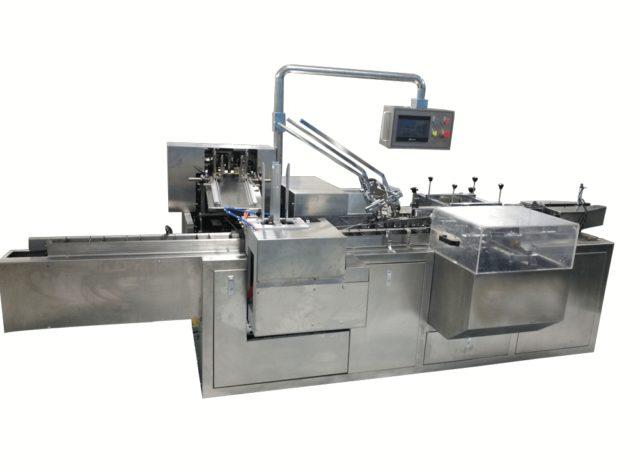 Hot melt glue carton packing machine