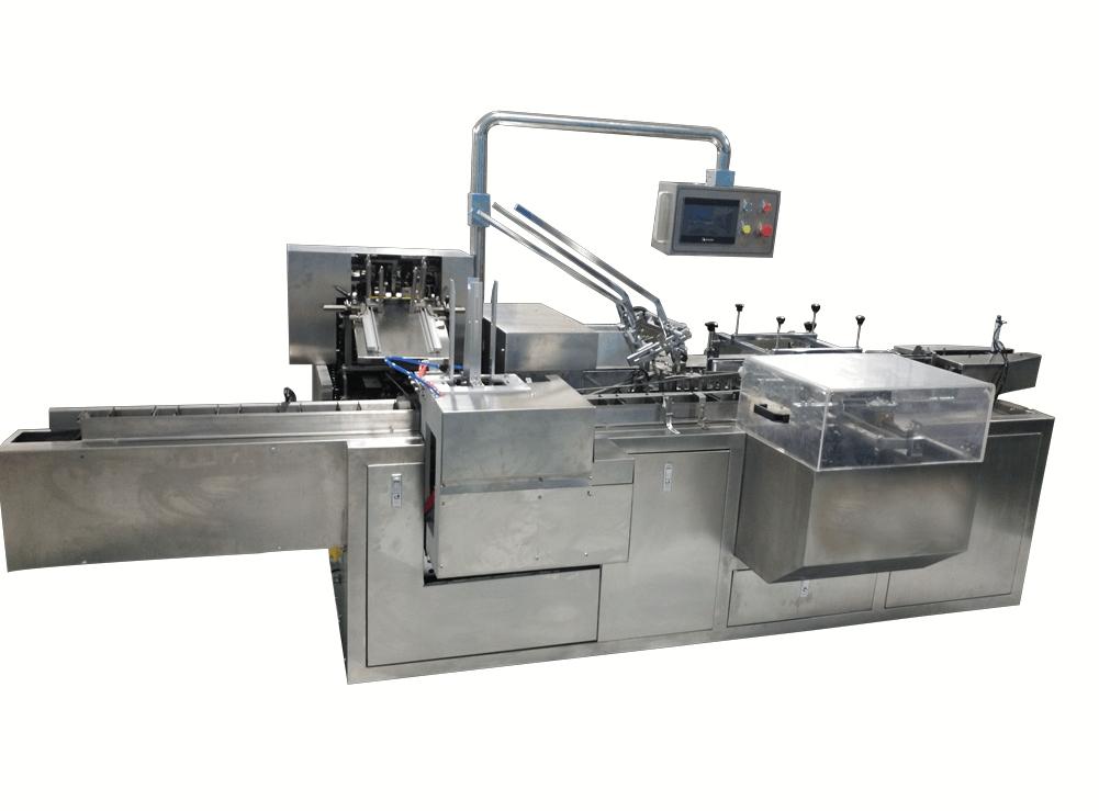 Automatic hot melt glue carton packing machine