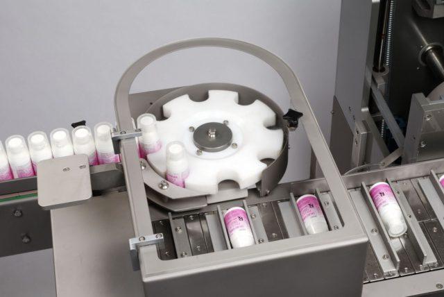 Starwheel of automatic hot melt glue cartoning machine