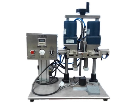 Semi-automatic-Desktop-Capping-Machine