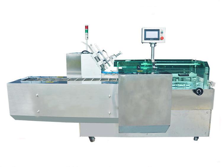 Automatic horizontal tucking flap cartooning machine SBM-CM30/80TC