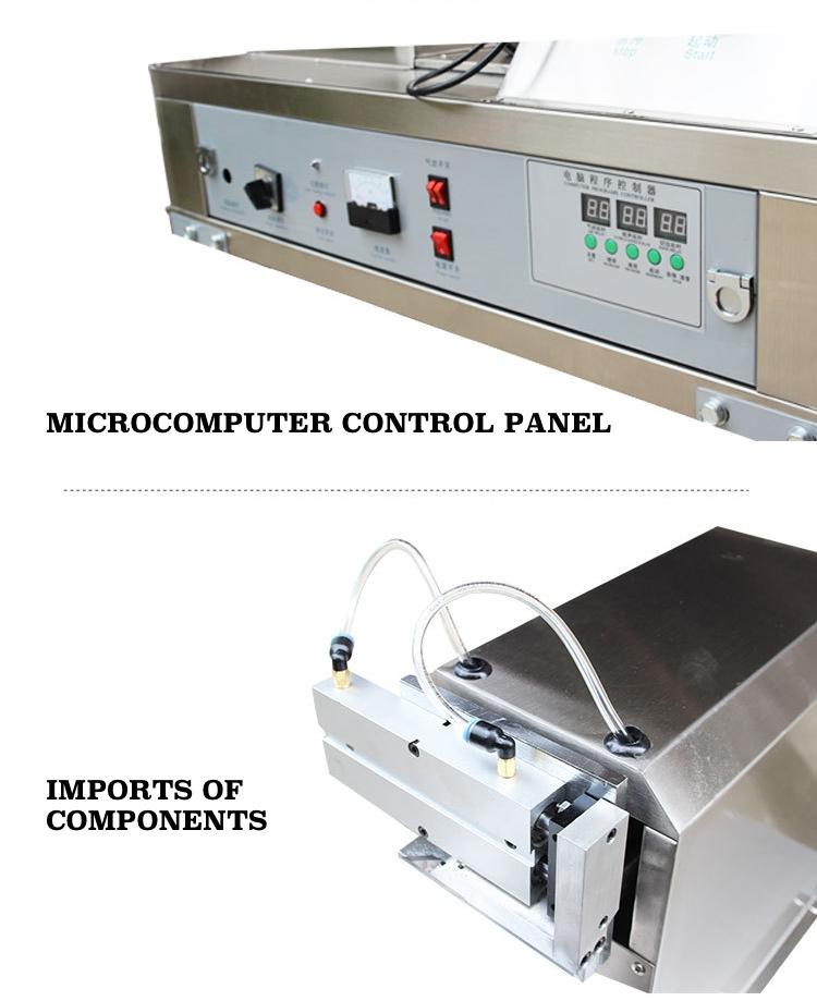 Details of ultrasonic tube sealing machine A