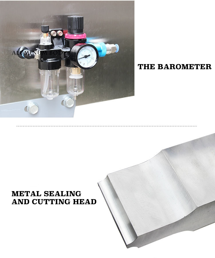 Details of ultrasonic tube sealing machine B