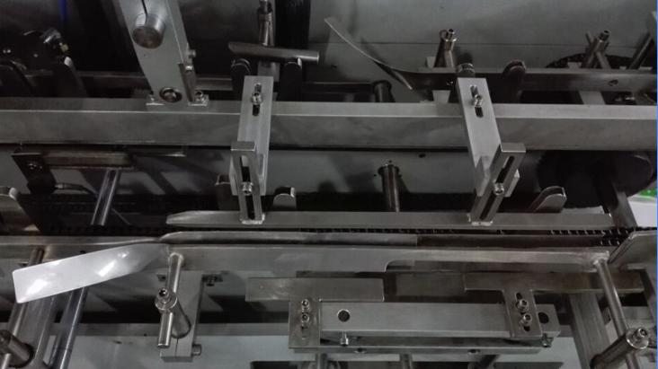 Folding flap system of cartoner