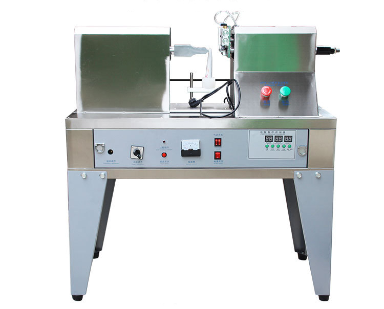Ultrasonic tube sealer with basic support