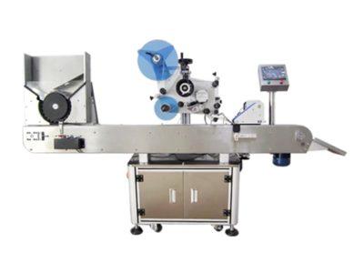 Automatic horizontal round bottle labeling machine model SBM-L21900