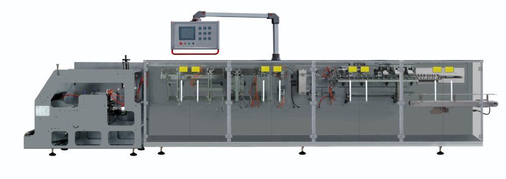 Horizontal form-fill-seal doypack machine model sbm-ds180