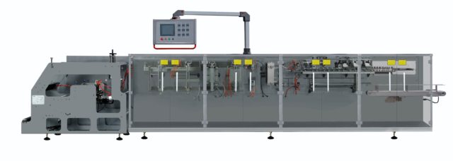 Horizontal form-fill-seal doy pack machine model sbm-ds180