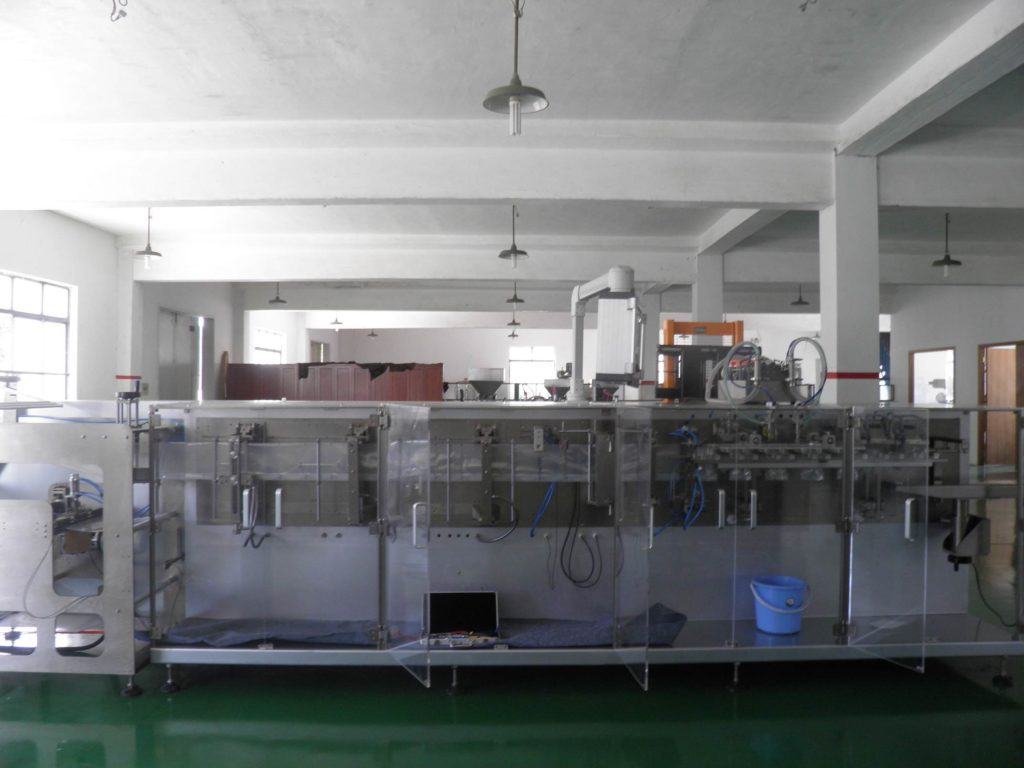 Overview about the HFFS DoyPack Machine Model SBM-DS180