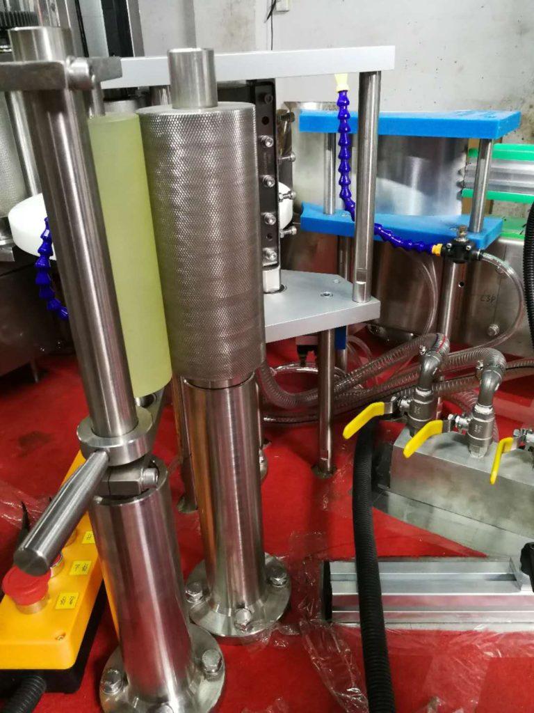 Details 2 about the hot melt glue labeler model SBM-HMGL400