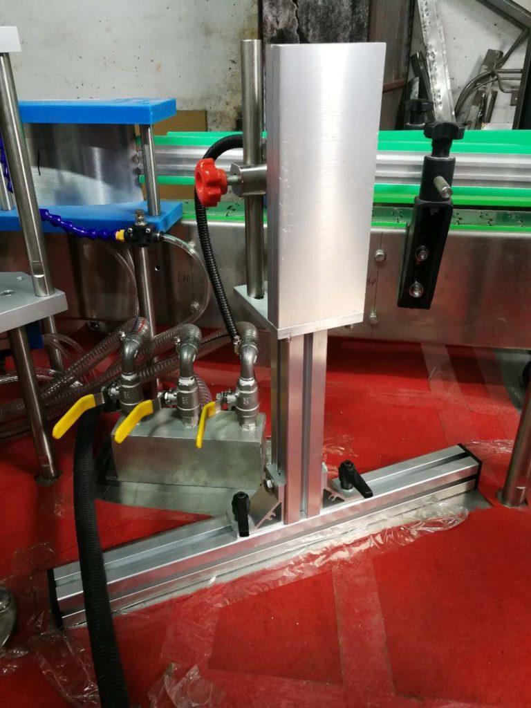 Details about the hot melt glue labeler model SBM-HMGL400