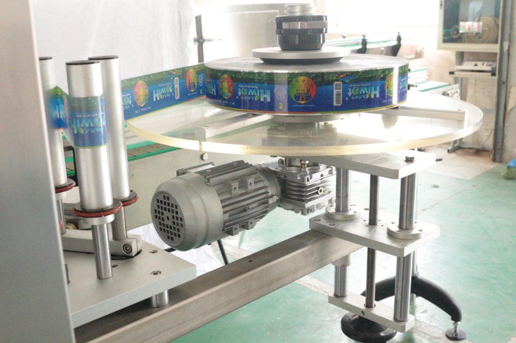 Film roll of the hot melt glue labeling machine