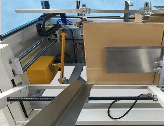 Ergonomic Black Magzine can replenish blanks while machine operates.