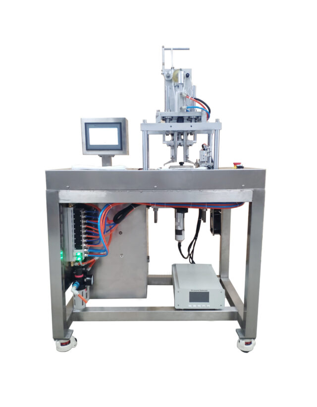 Welding machine for mask