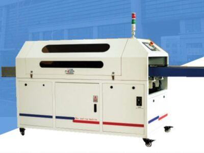 high speed semi-automatic hot melt glue box sealing machine