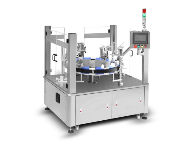 Semi-automatic vertical rotary cartoner SBM-VRC80D