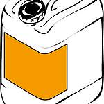 Corner labeling of bulk containers