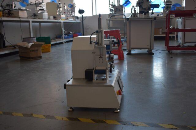 Front view of the Wrap-around labeling machine SBM-SAWALM30