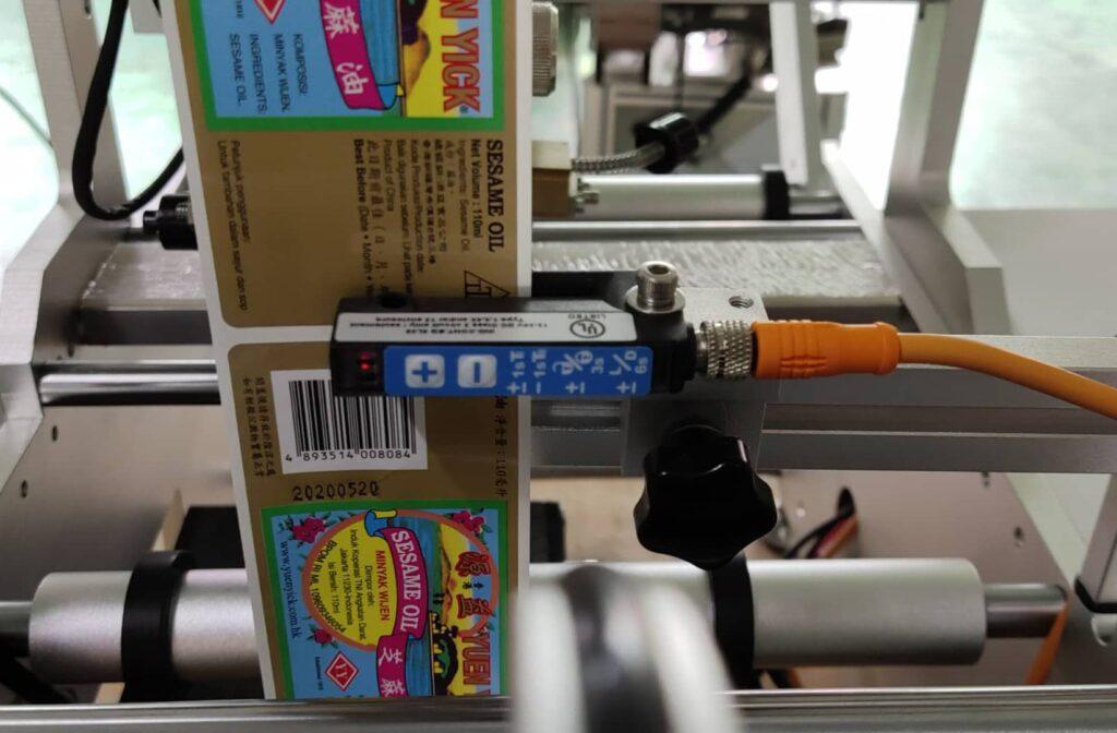 German SICK sensor for detecting labels