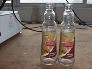Labeling for special shape bottles