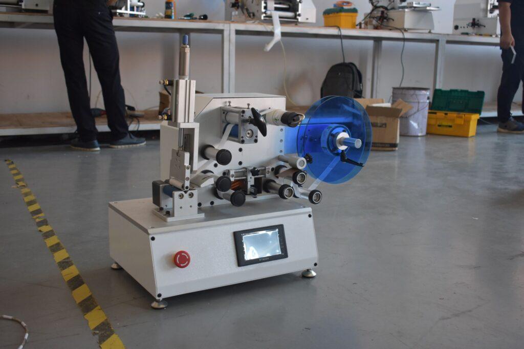 Overview of Wrap-around labeling machine SBM-SAWALM30