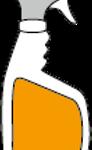 Side labeling of shaped bottles