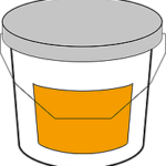 Side labeling of large, cylindrical products