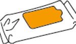Top-side labeling of flat products