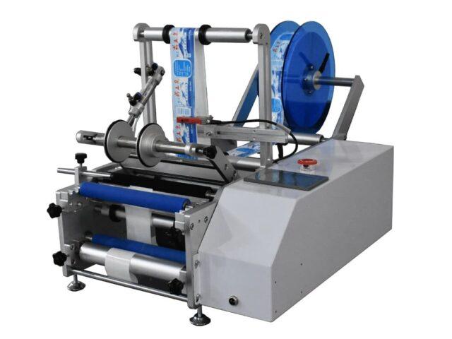 semi-automatic wrap-around labeling machine sbm-sarlm220