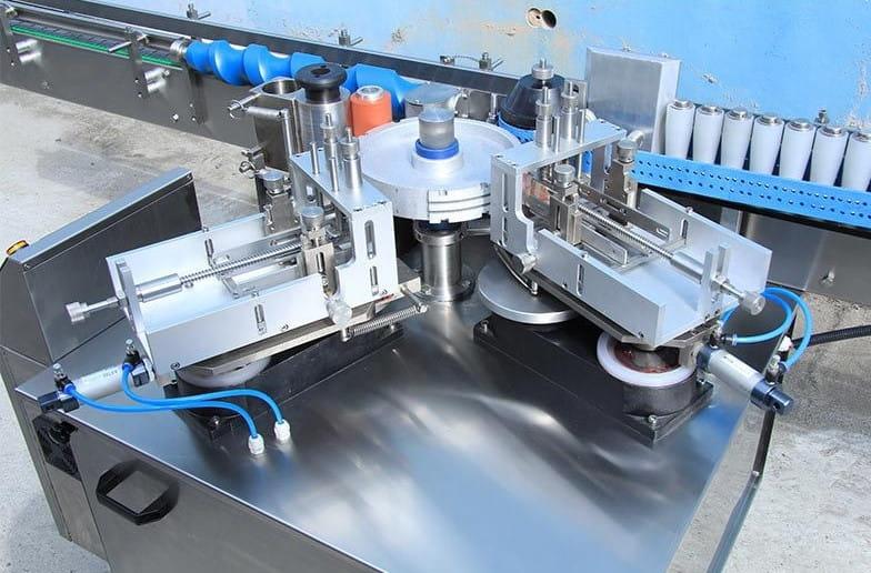 Automatic cold glue labeling machine details