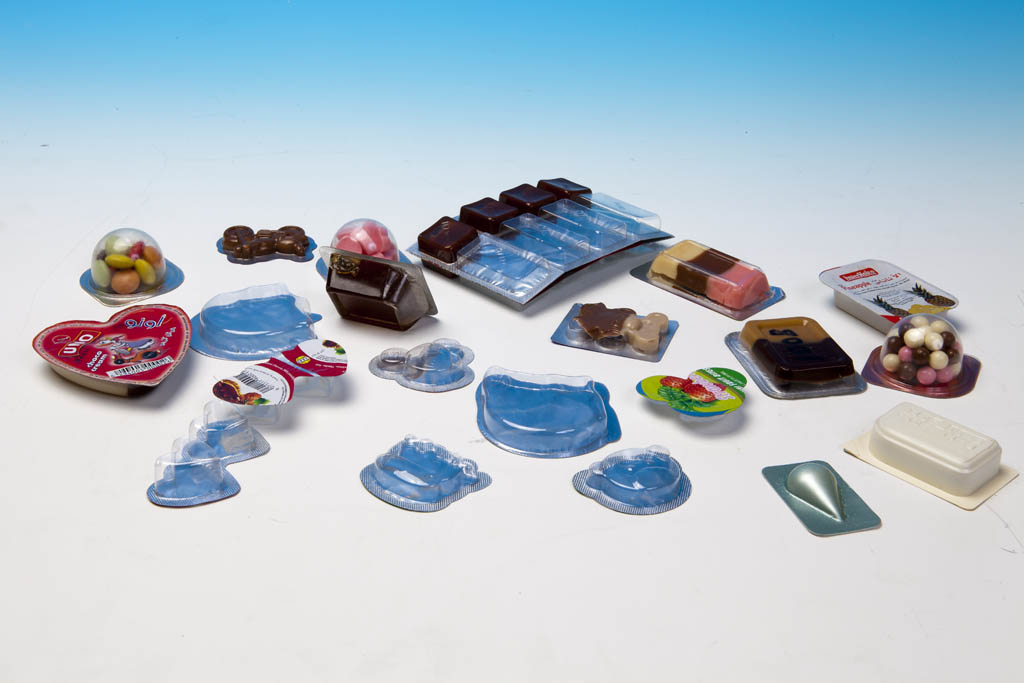 All kinds of products made by the form fill seal machine
