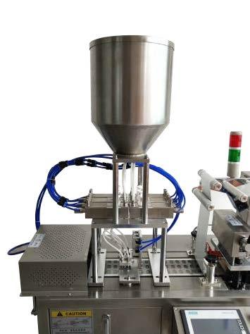 Ceramic or piston pump